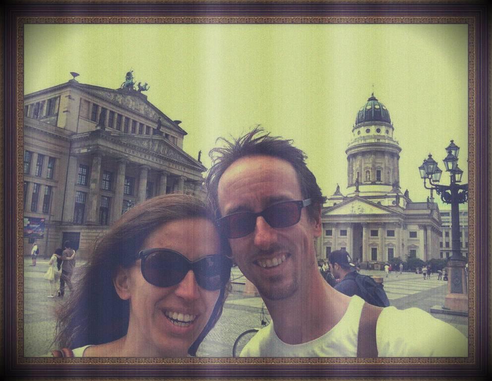 Een echt Berlijn kiekje