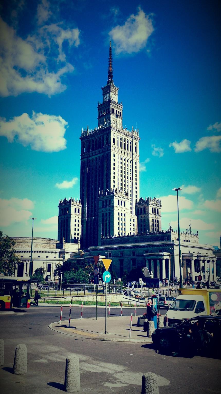 Een landmark van Warsaw Polen