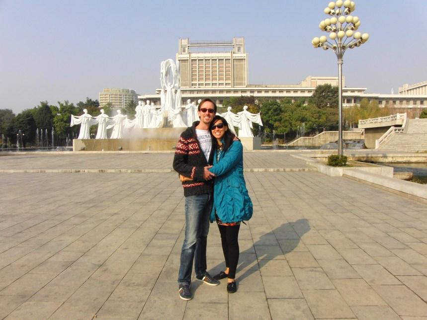 De Nationale bibliotheek Pyongyang Noord-Korea