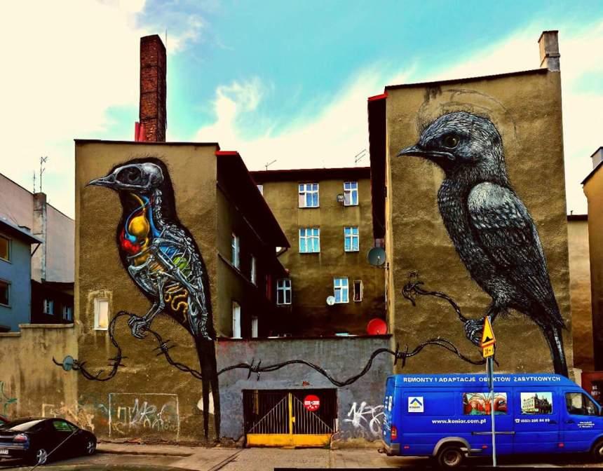 Hoe gaaf is deze street art?