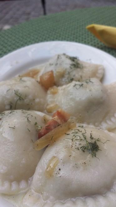 Pirogi Pools traditioneel eten
