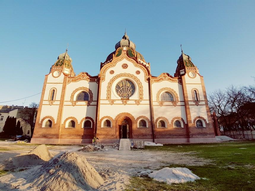 Joods gebedshuis in aanbouw