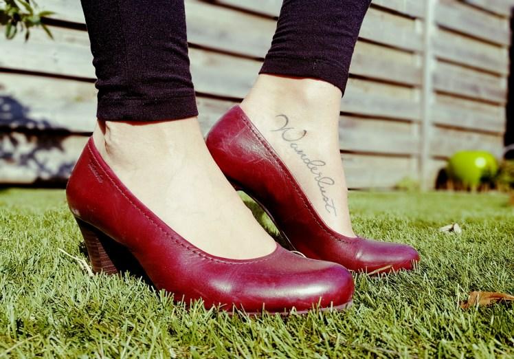 Voet tatoeage tattoo