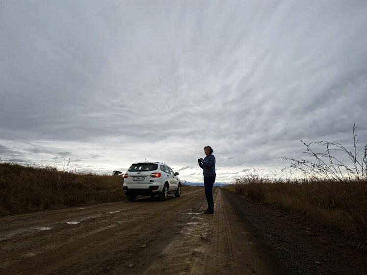 Donkere luchten in Zuid Afrika