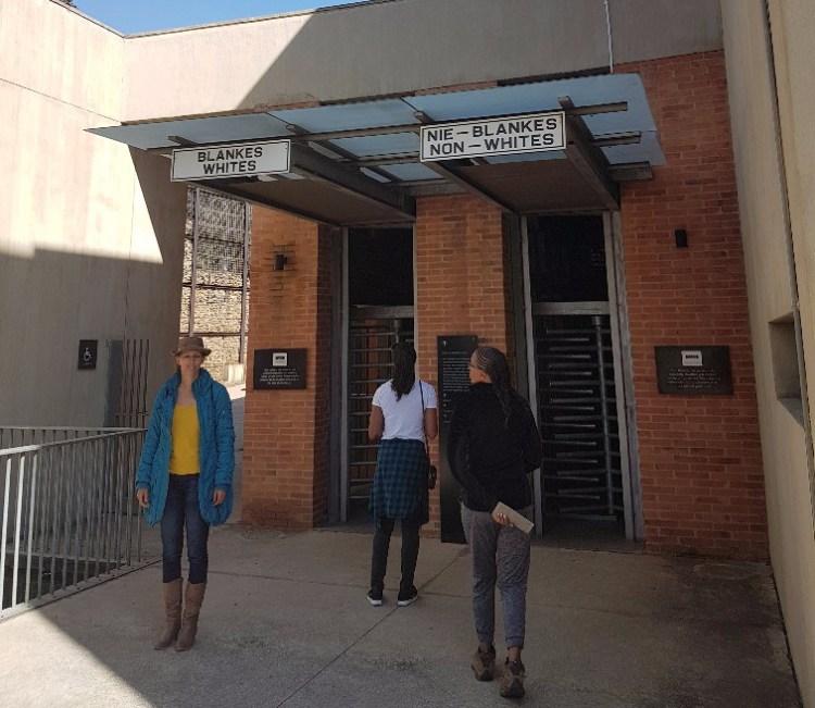 Apartheidsmuseum Johannesburg Zuid Afrika