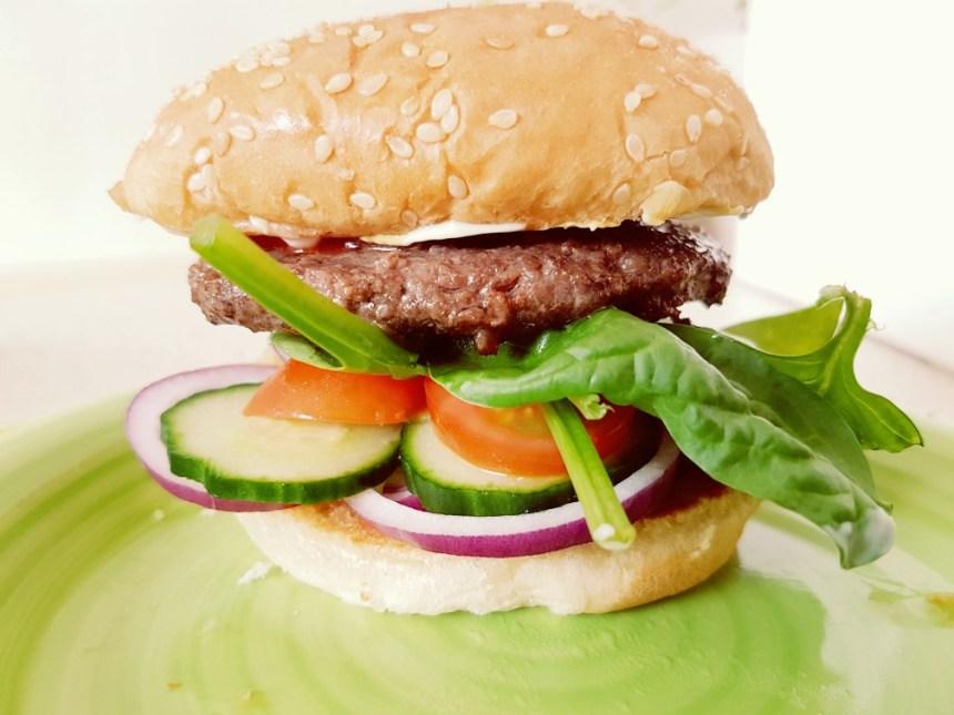diervriendelijke vlees hamburger