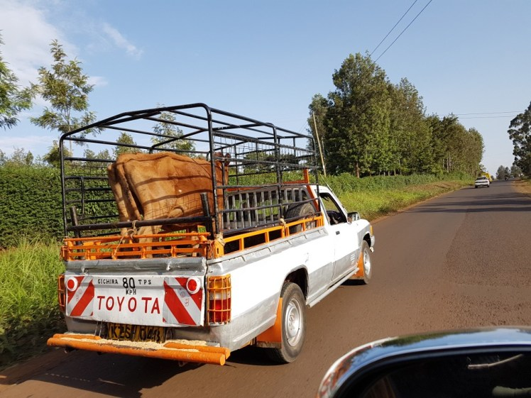 Veetransport in Kenia