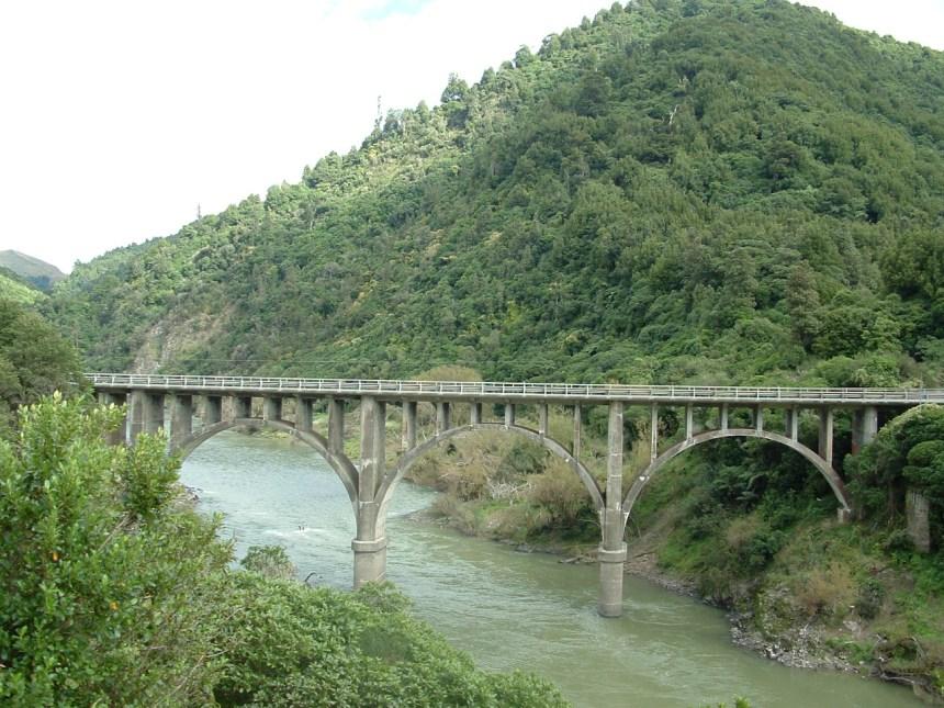 Manawatu Gorge Railway walk