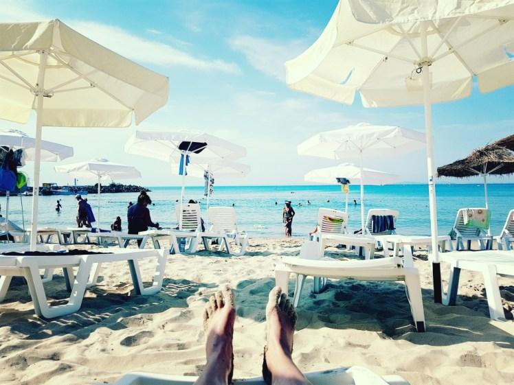 Zwarte zee strand Bulgarije