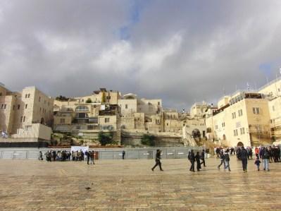 Plein van de Klaagmuur Israël