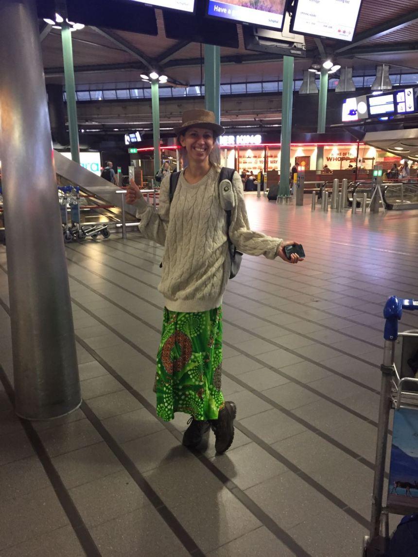Schiphol hippie