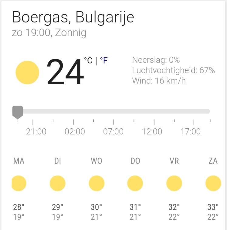 weer boergas bulgarije