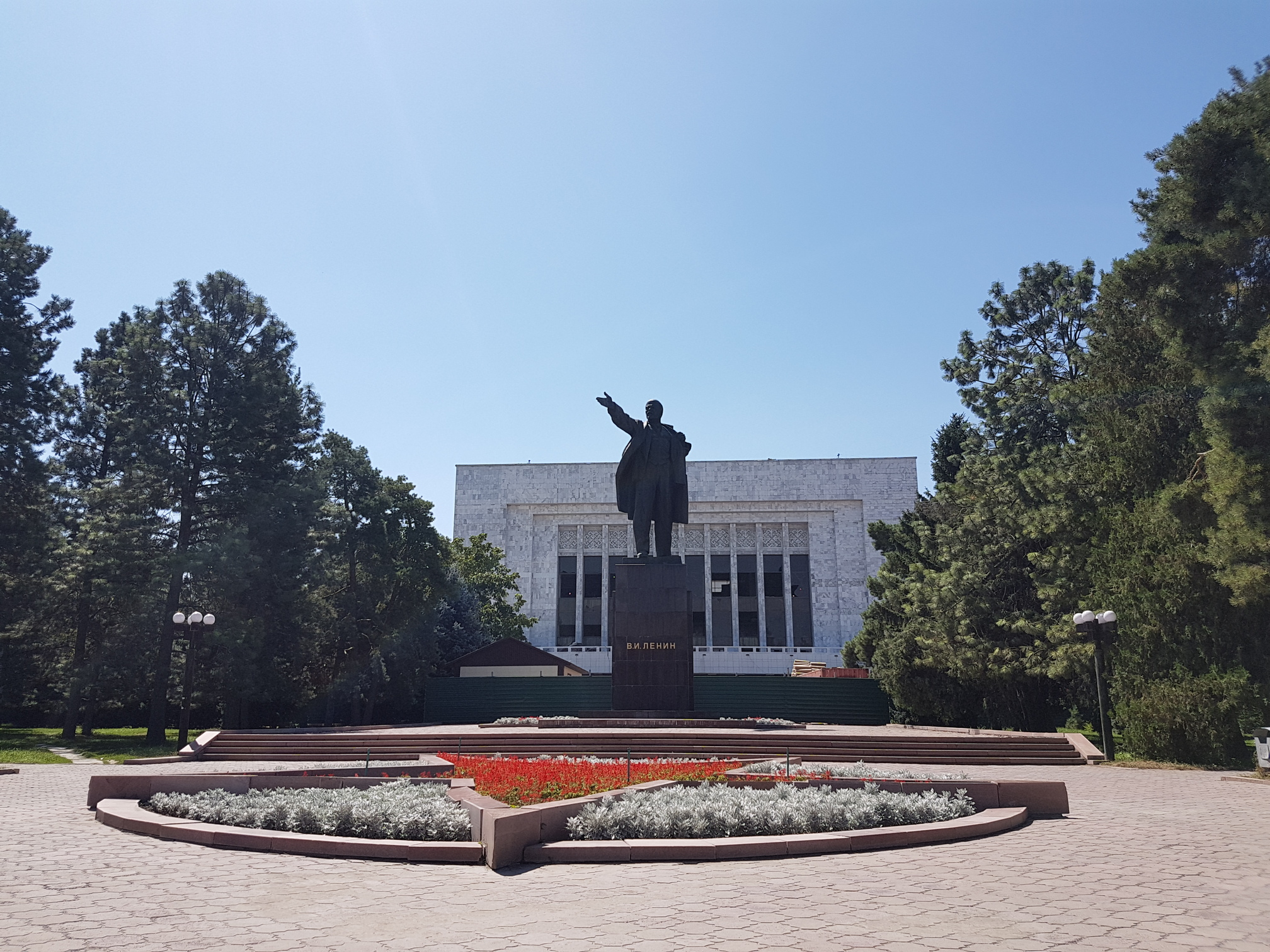Lenin in Bishkek Kirgizië
