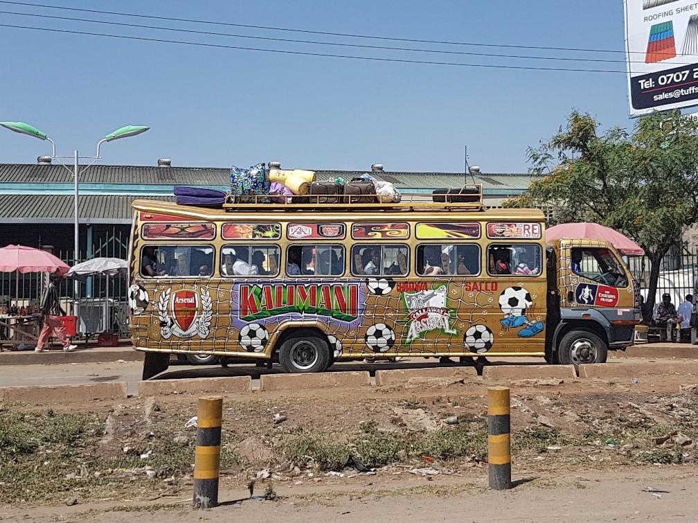 bussen in Nairobi Kenia