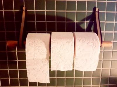 DYI nieuwe wc rol houder