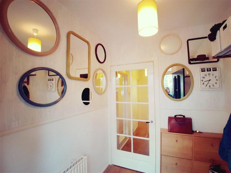 retro spiegels