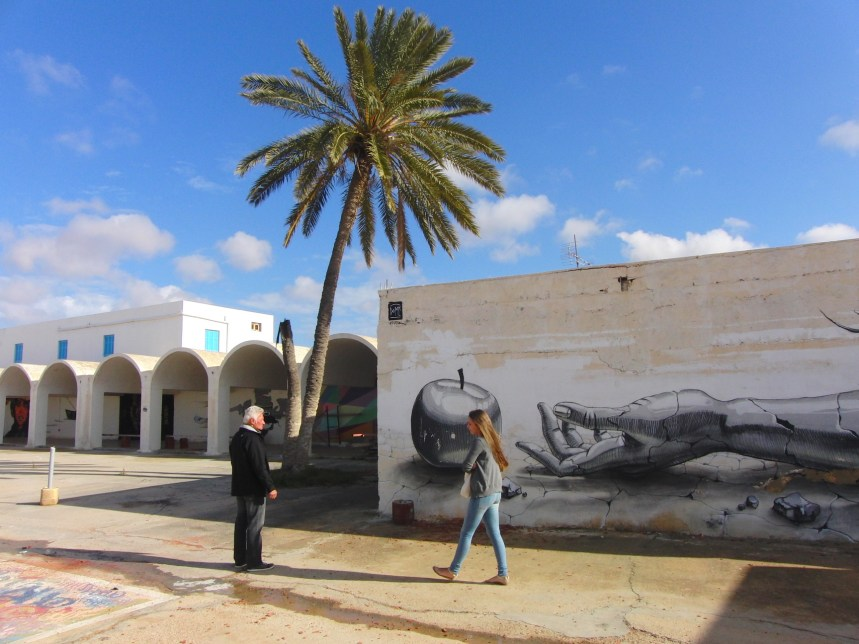 Djerba Tunesië streetart