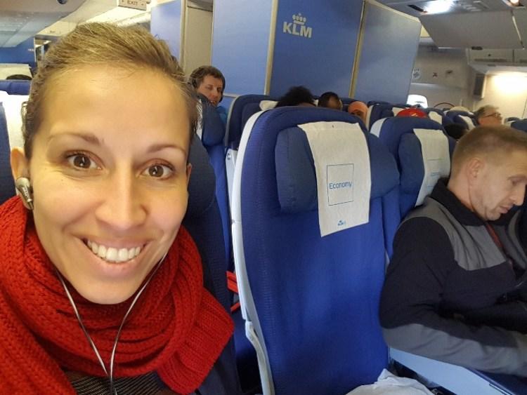 KLM vliegen Nairobi