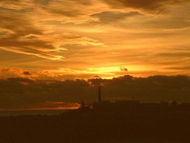 Zonsondergang gran canaria
