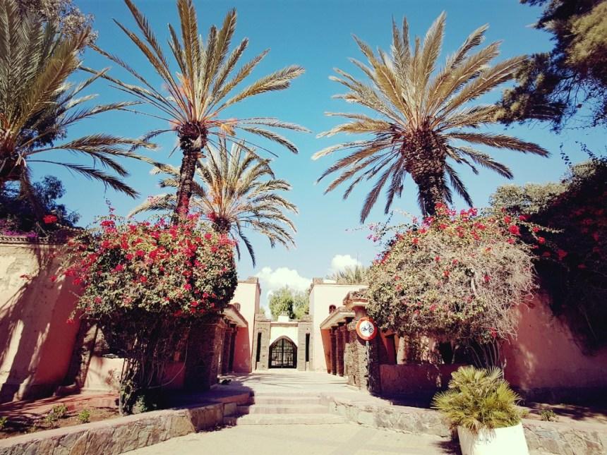 Agadir Marokko Jardin d'Olhao