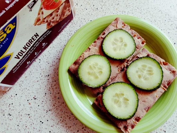 knackebrod met vegetarische paté