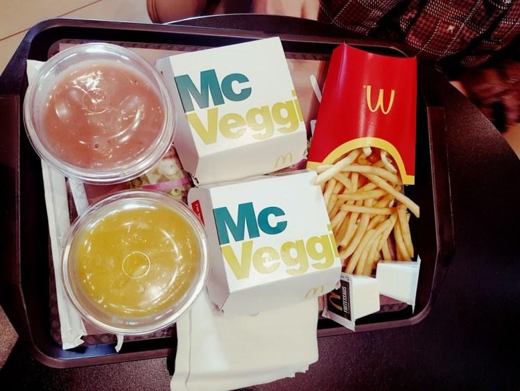 McDonalds McVeggie