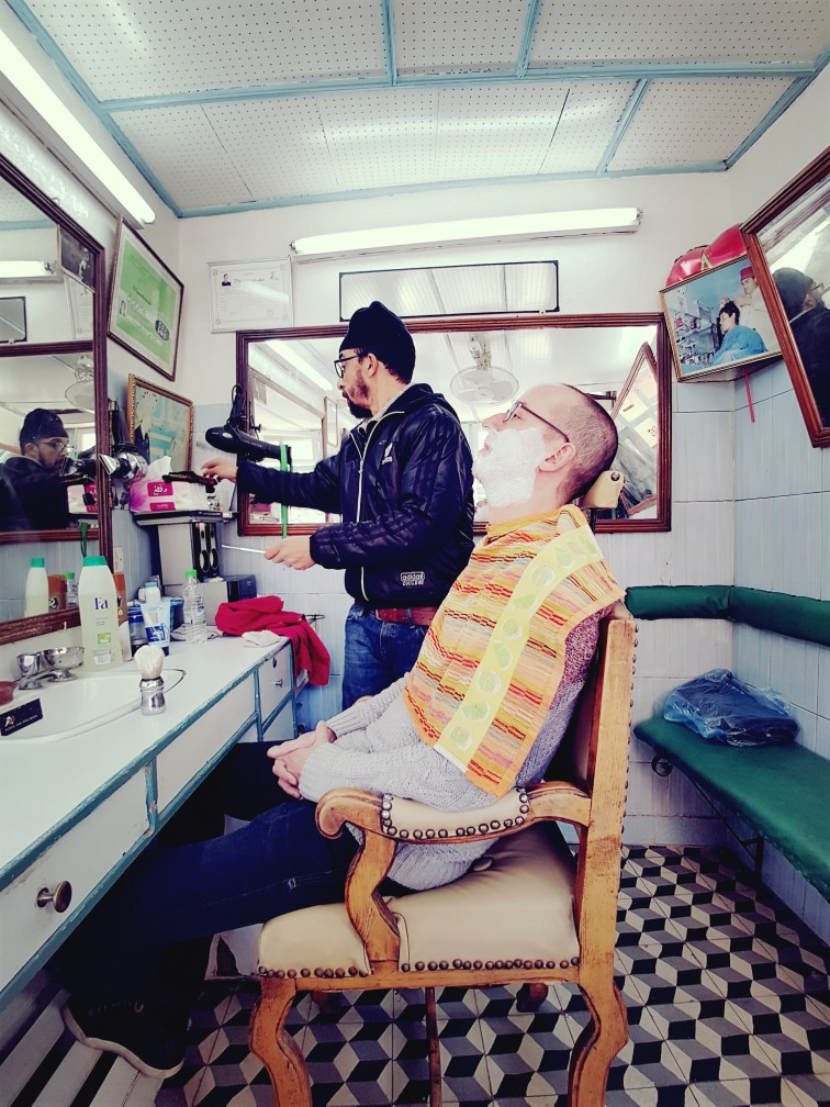 activiteit Marrakesh barbier Marokko
