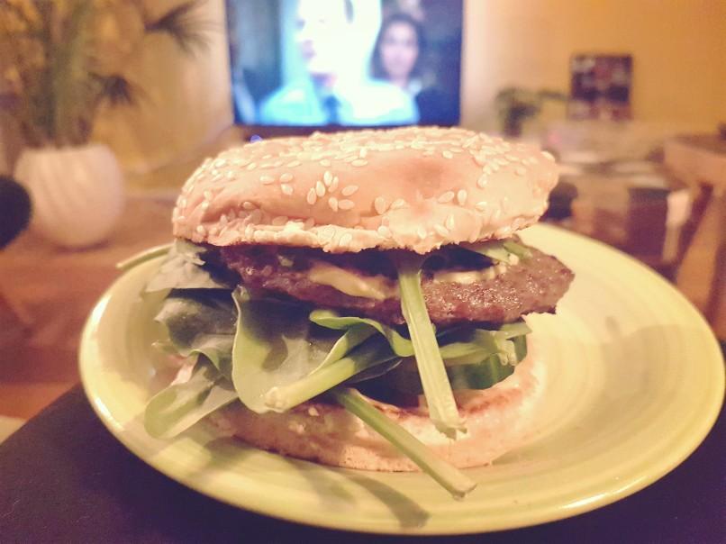 Hamburgers en Netflix