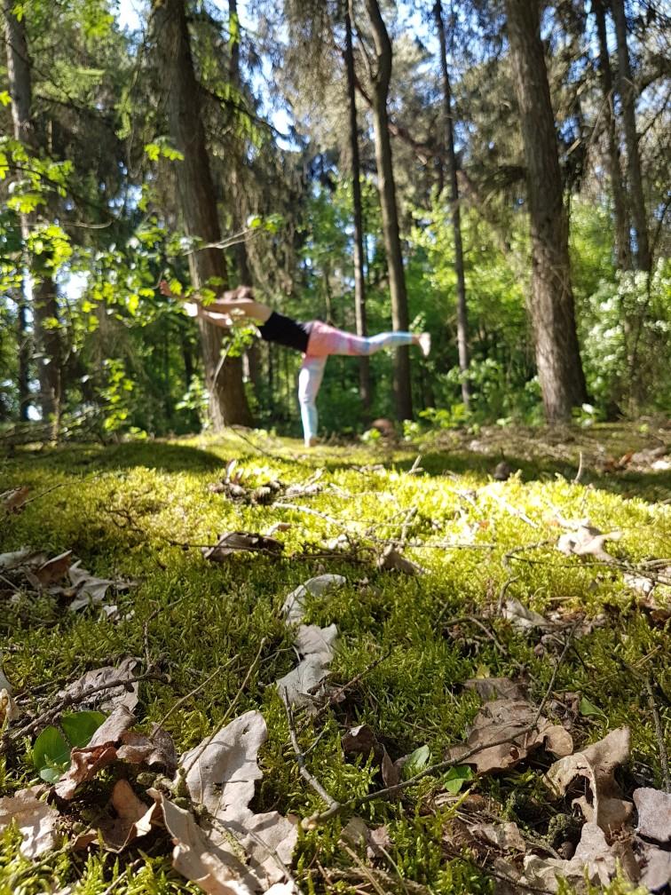 Yoga in de natuur (3)