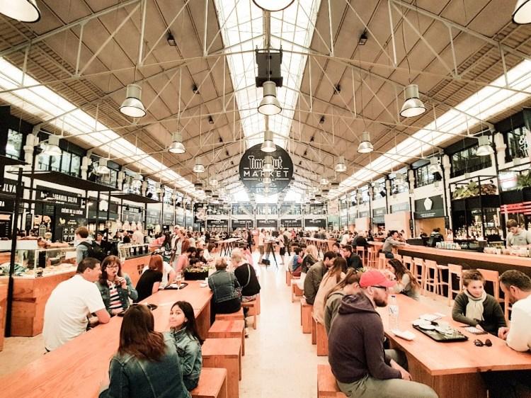 Mercado da Ribeira Time Out market Portugal Lissabon