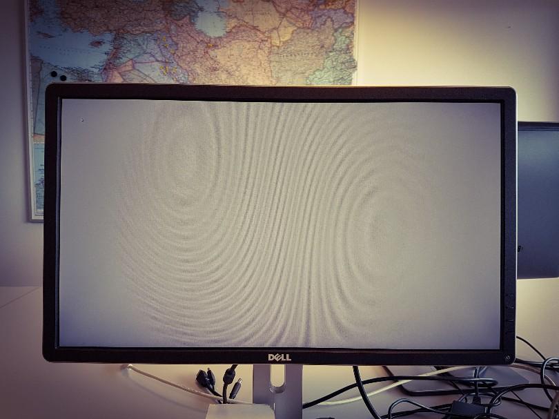 computer crash grijs scherm