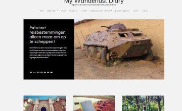 Veni Wordpress theme blog layout