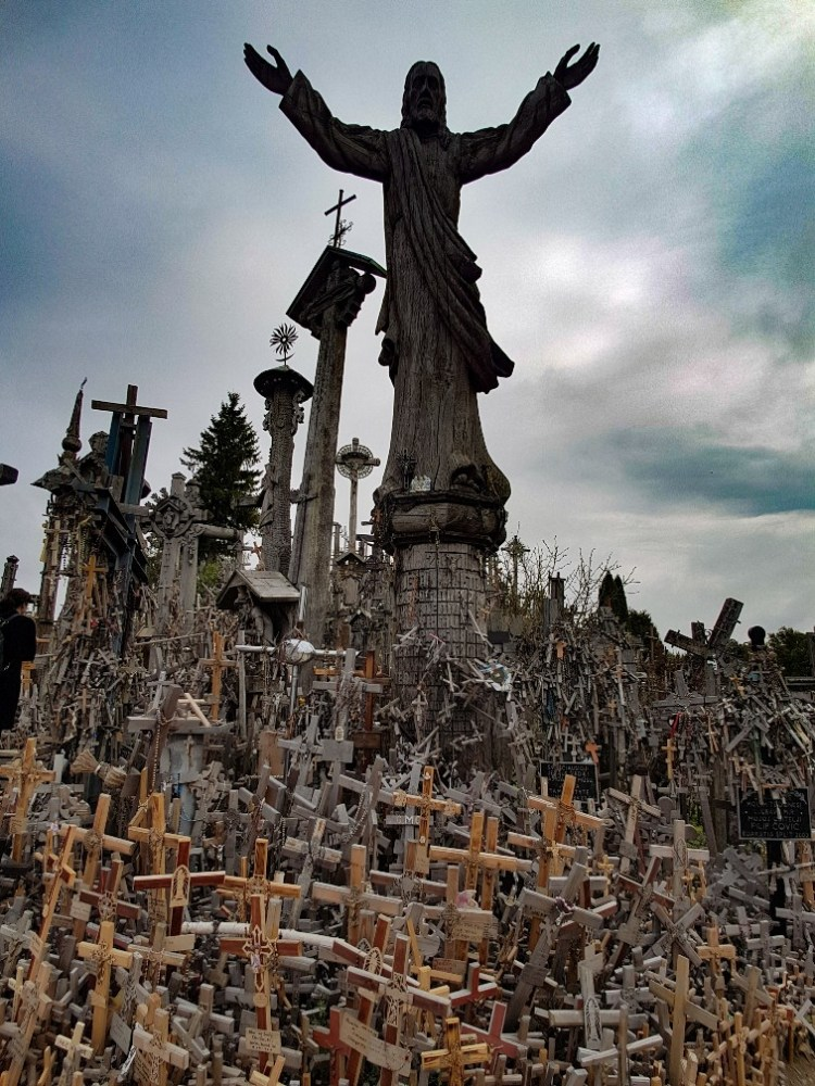 Hill of crosses Siauiliai Litouwen