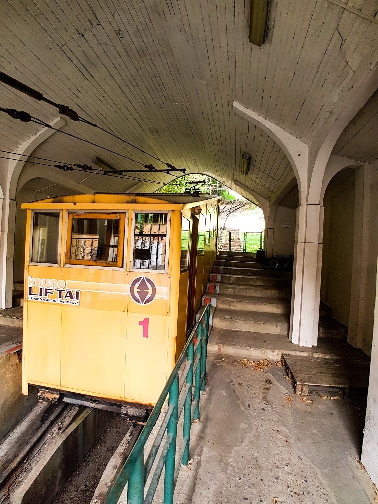Kabelbaan Kaunas Litouwen Funiculars