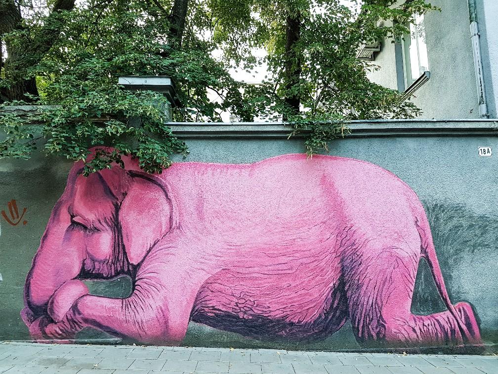 Streetart Kaunas Litouwen (1)