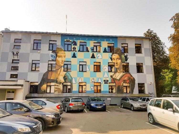 Streetart Kaunas Litouwen
