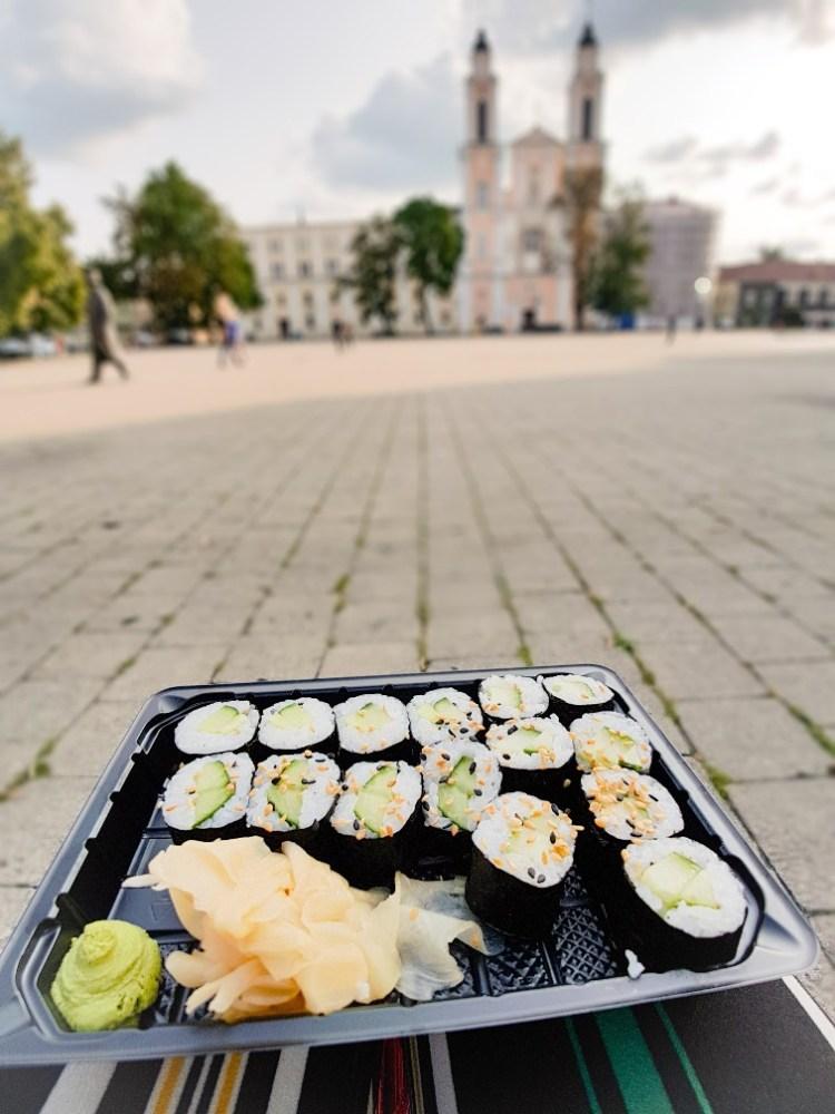 Sushi Kaunas Litouwen