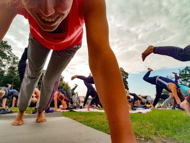 Yoga Sonsbeekpark Arnhem (1)