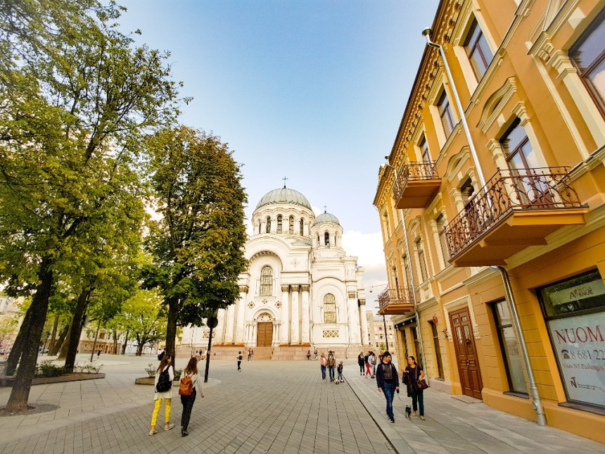 G Michael archangel Cathedraal Kaunas Litouwen