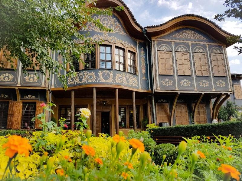 Etnografisch Museum oude stad Plovdiv Bulgarije