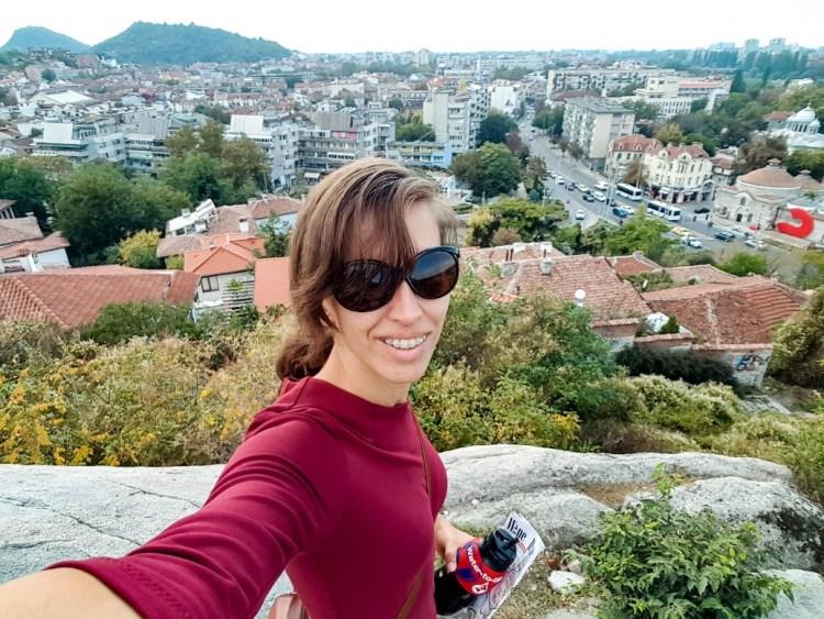 Nebet Tepe zonsondergang Plovdiv Bulgarije