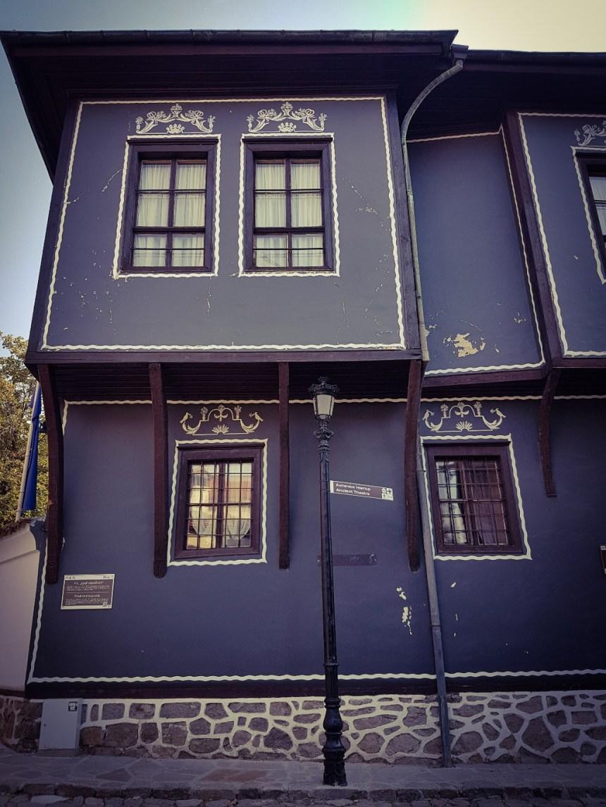 Bijzondere huizen Plovdiv Bulgarije