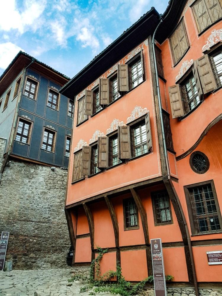 Archtectuur Plovdiv Bulgarije