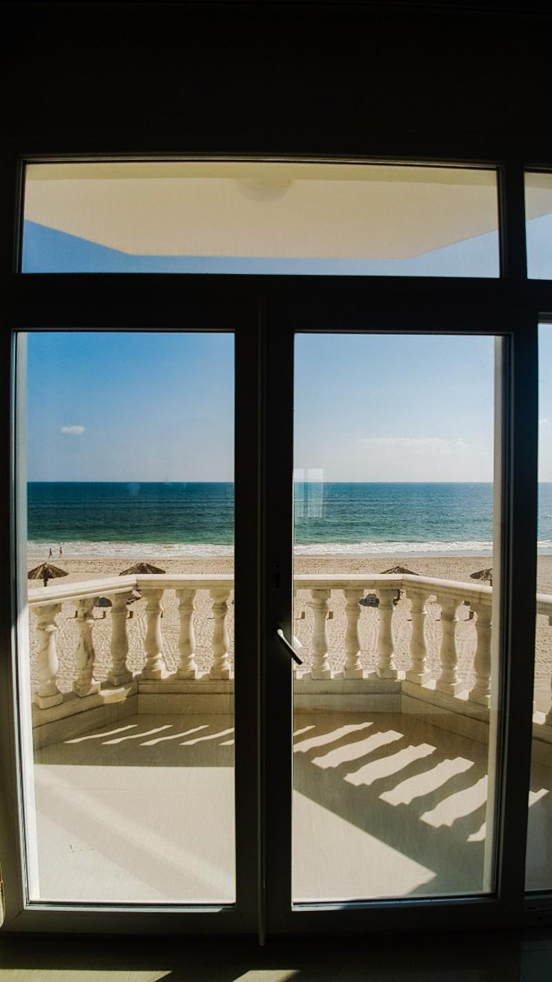 Uitzicht Oman strand Salalah