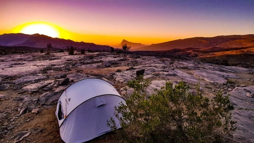 Jebel Shams kamperen Oman (5)