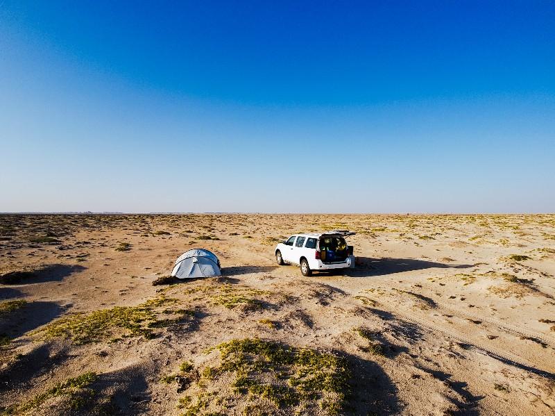 wildkamperen Oman