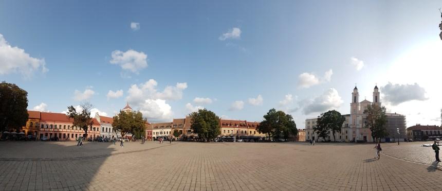 Plein Hotel de Ville Kaunas Litouwen