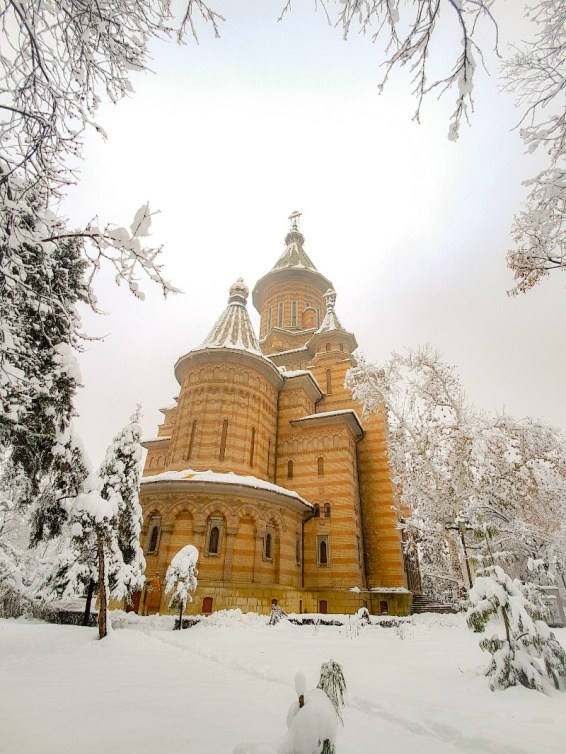 Kerk Timisoara Roemenië