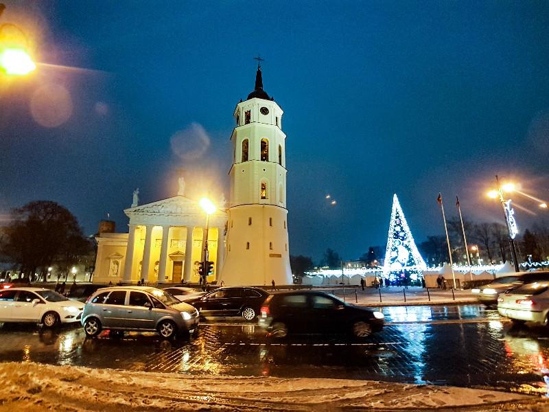 oude centrum Vilnius Litouwen