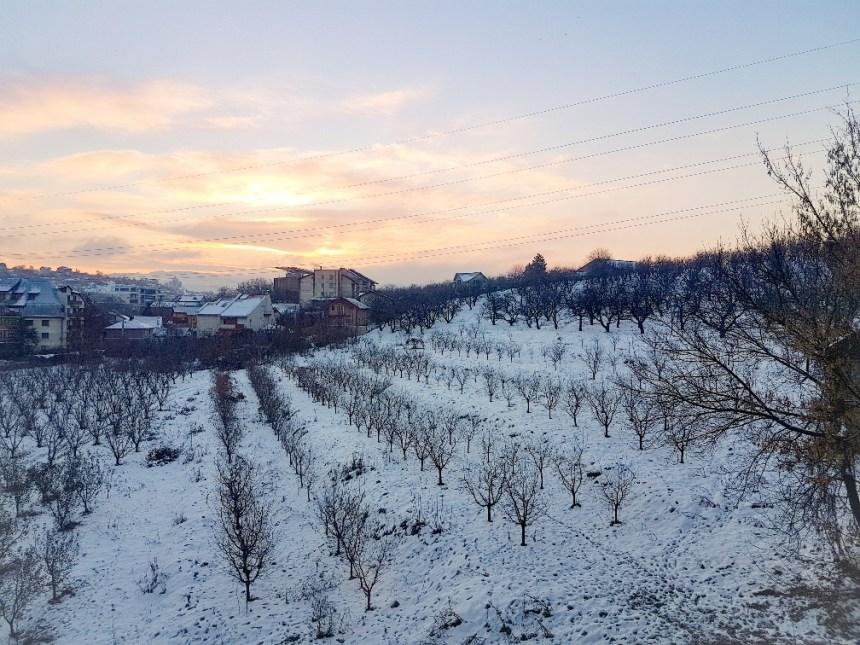 Hotel Iasi Roemenië sneeuw